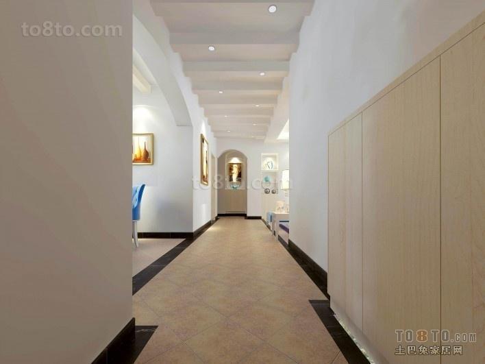 走廊玄关装修效果图  走道玄关装修效果图