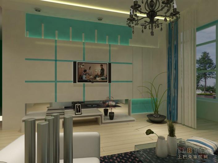 清新田园风格卧室设计