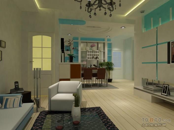 160平豪华现代四居装修美图