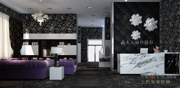 现代家装时尚风客厅设计