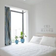 2018大小108平现代三居卧室装修设计效果图片