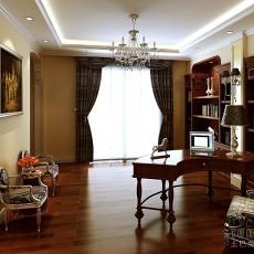 欧式古典书房书架图片