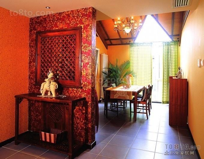 精美小户型餐厅东南亚装修效果图