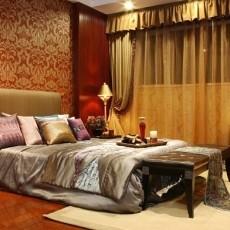 精美三居卧室东南亚欣赏图