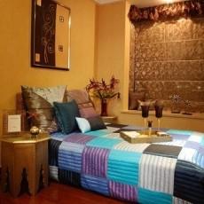 精美东南亚三居卧室装修实景图片欣赏