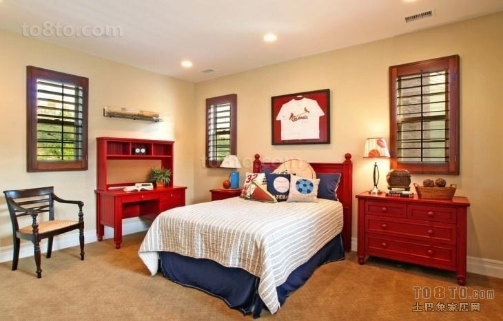 小户型东南亚风情卧室装修效果图大全2012图片