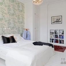 精选面积103平欧式三居卧室效果图