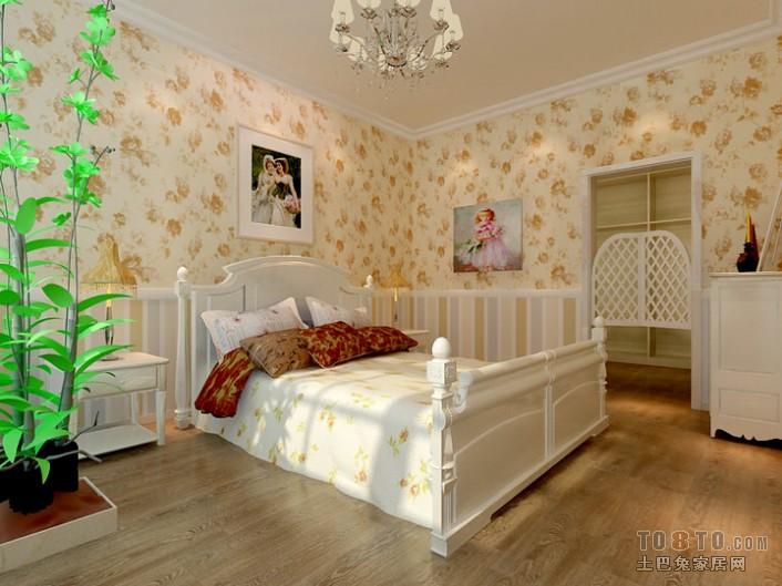 时尚现代风格设计卧室效果图
