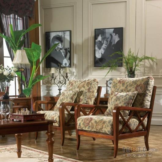 简约美式风格卧室设计装修图片欣赏