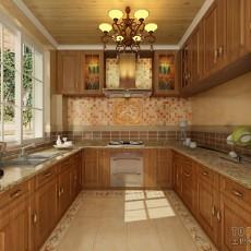 2013简约开放式厨房装修效果图