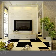 热门144平米混搭复式客厅装修设计效果图片
