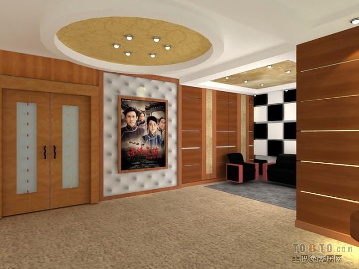 现代家装室内卧室设计效果图