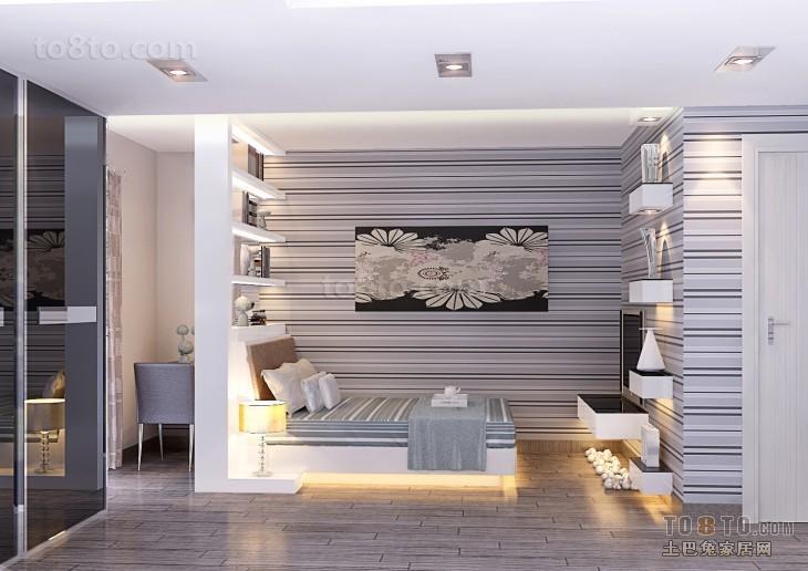 别墅卧室装修效果图大全2012图片