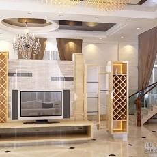 精美132平米现代别墅客厅装饰图片大全