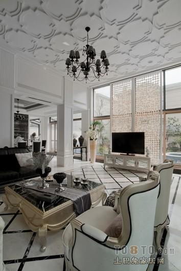 混搭北欧风格客厅设计
