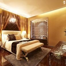 热门面积126平混搭四居卧室装修图片大全