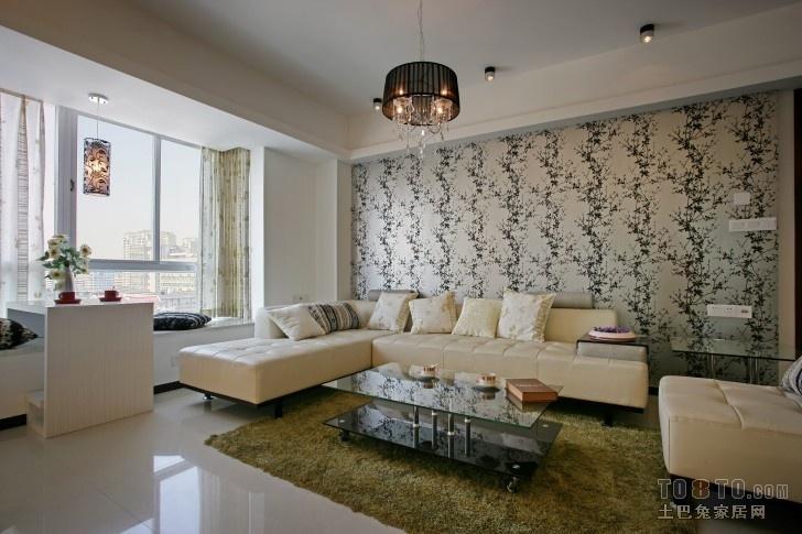 现代风格客厅背景墙装修效果图大全2013图片