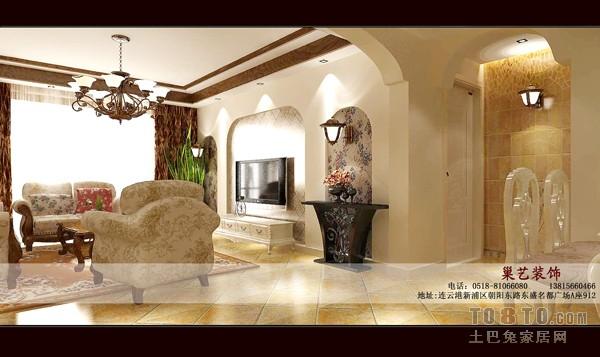 北欧简约设计公寓室内效果图片