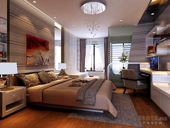精选面积85平小户型卧室混搭装修图片