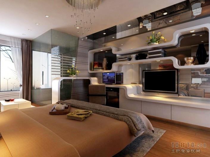 精美面积77平小户型客厅混搭装修效果图片欣赏