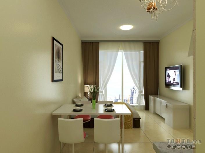 热门77平米混搭小户型客厅装修图