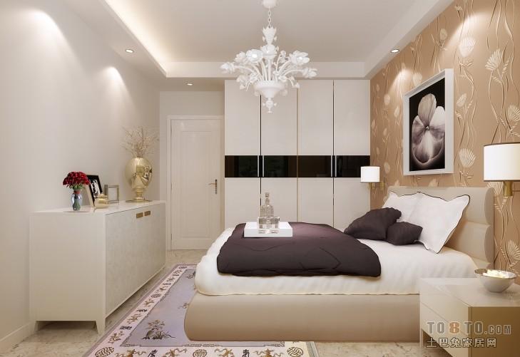 精选二居卧室现代欣赏图片
