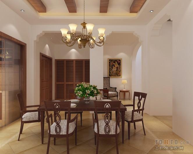 罗马米黄-餐厅-简约风格