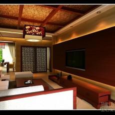 东南亚三居客厅欣赏图片