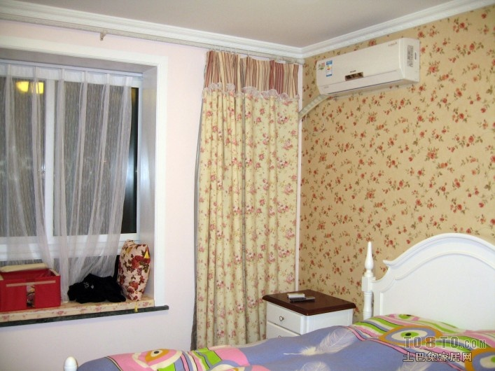 2018精选面积78平小户型卧室混搭效果图