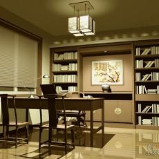 2013中式书房装修效果图片