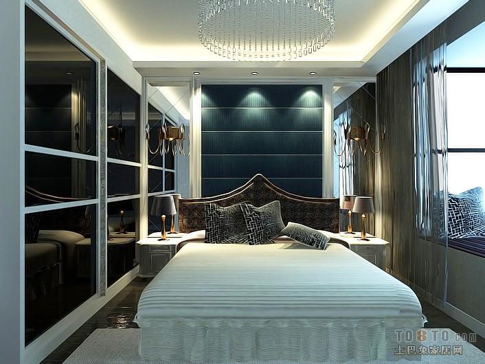 美式简约室内客厅设计装修效果图片