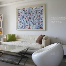 精选87平米二居客厅现代实景图片大全