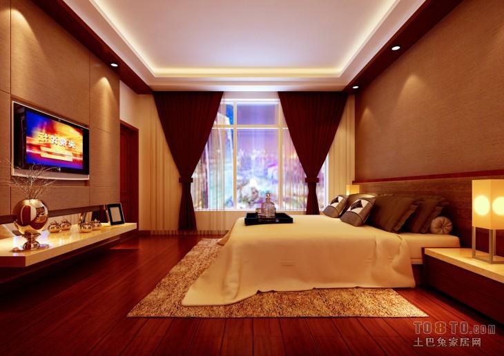 自然东南亚卧室装修案例