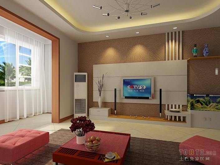 北欧风格公寓客厅装饰效果图片