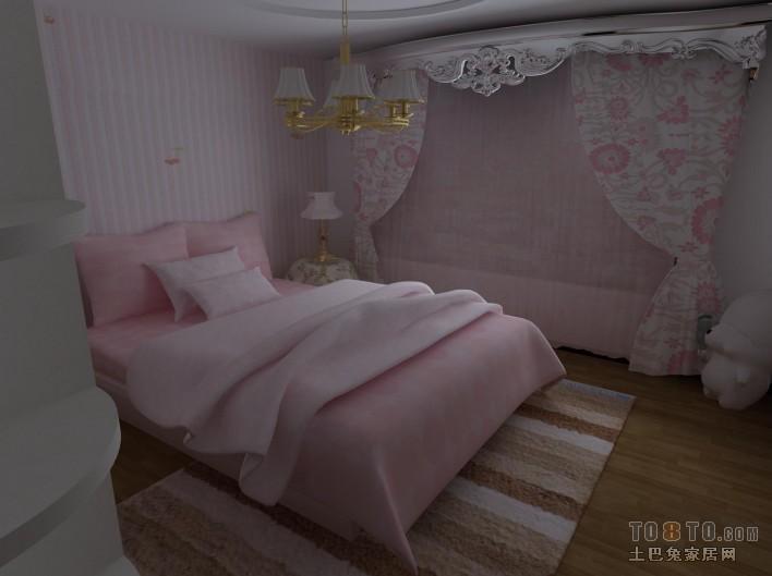 甜蜜简美设计客厅