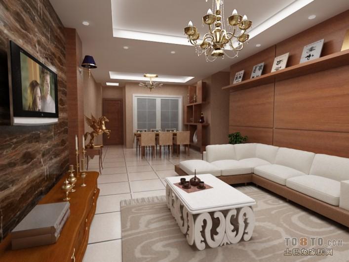 现代简约家装卧室布置