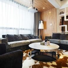 2018精选111平米现代别墅客厅装饰图片大全