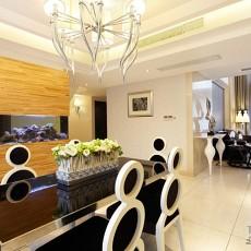 精美135平米现代别墅餐厅装修效果图片欣赏