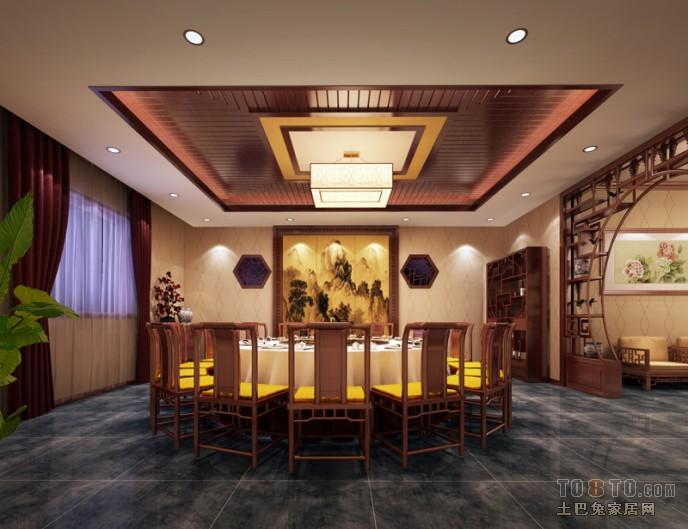 精致美式餐厅家居装潢