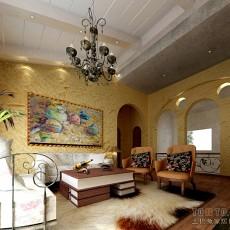 简约风格家庭客厅装修效果图欣赏