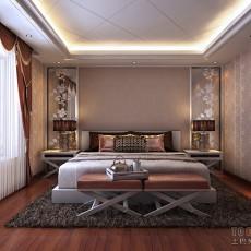 东南亚风格时尚卧室效果图
