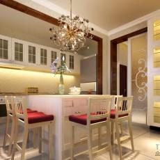 热门面积127平复式客厅混搭欣赏图片