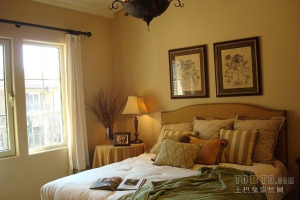 宜家风格卧室家装设计效果图