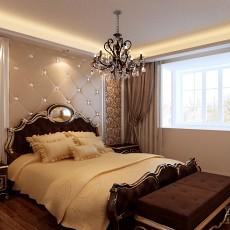 中式大主卧室装修效果图大全2013图片