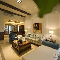 精选面积130平混搭四居客厅欣赏图