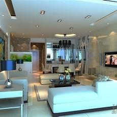 地中海家庭客厅装修效果图欣赏