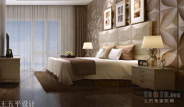 复古美式次卧设计图片