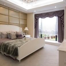 精美96平方三居卧室混搭装修欣赏图片