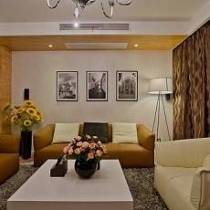 精选73平方二居客厅现代装修效果图片欣赏