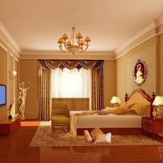 温馨粉红卧室装修效果图